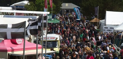 Figure 2: Crowd at the entrance of the Royal Cornwall Show 2014 (photo http://royalcornwallshow.org/the-show/)