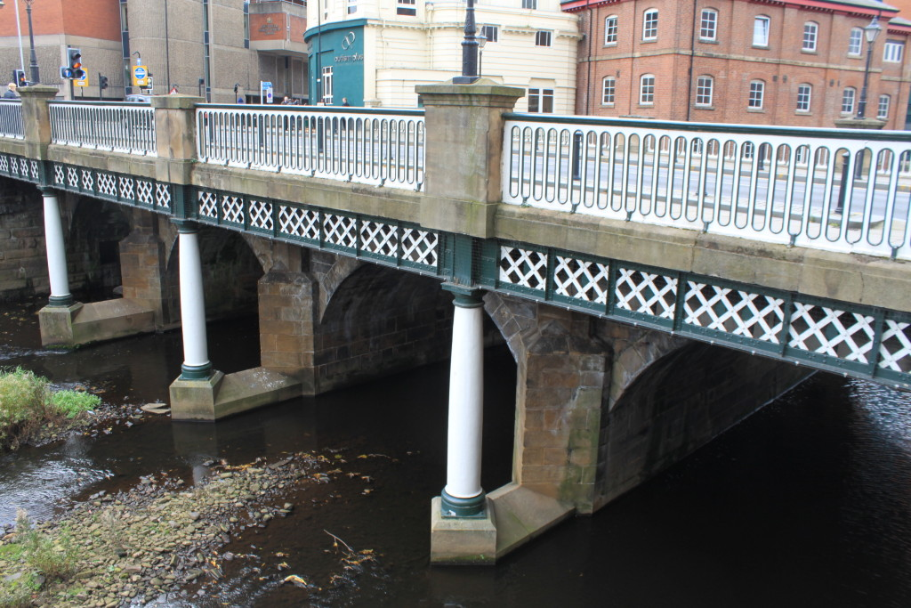 Lady's Bridge and the low water level in November.