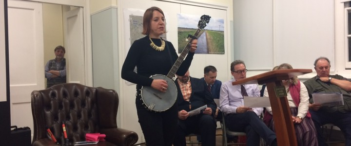 Singing of the Fenland with Sharron Kraus: 'A River is a Snake' is online