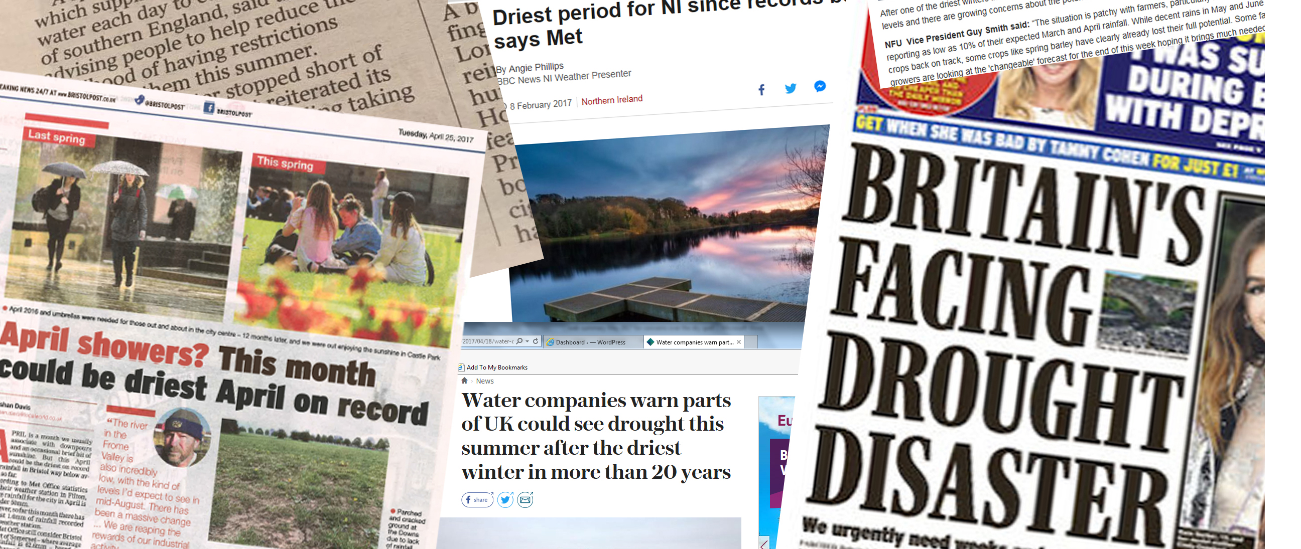 The Dry Spell in the UK media